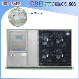 Fast Food Shops Plate Ice Making Machine , Household Ice Machine Easy Operation