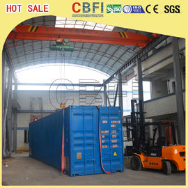 Çin Second Hand Freezer Shipping Containers Cold Room For Fruits , Meat , Ice Storage Fabrika