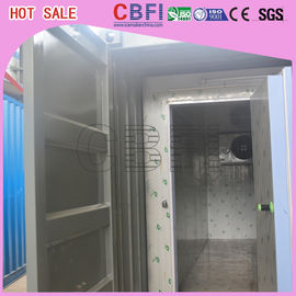 Çin Prefabricated Insulated Cold Storage Containers / 40 Feet Cold Room Containers Fabrika