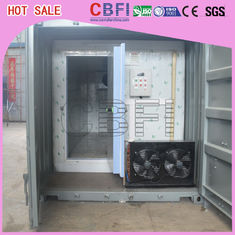 Çin Stainless Steel Panels Container Cold Room American Copeland Scroll Compressor Fabrika