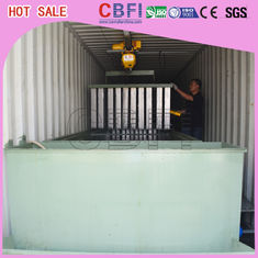 Çin Containerized Block Ice Plant Container Industrial Ice Block Making Machine for Fishery Fabrika
