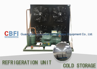 Çin R134a Refrigerant Air & Water Cooling Unit / Cold Storage Room Energy Saving Fabrika
