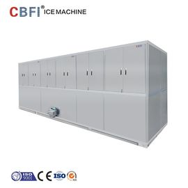 Automatic 10 Tons Cube Ice Maker 304 Stainless Steel For Completed Frame