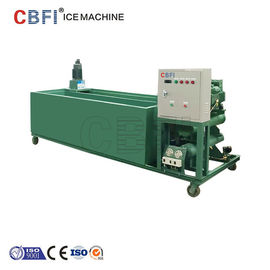 Çin 1000Kg - 100000Kg Capacity Ice Block Machine With PLC Controller Fabrika