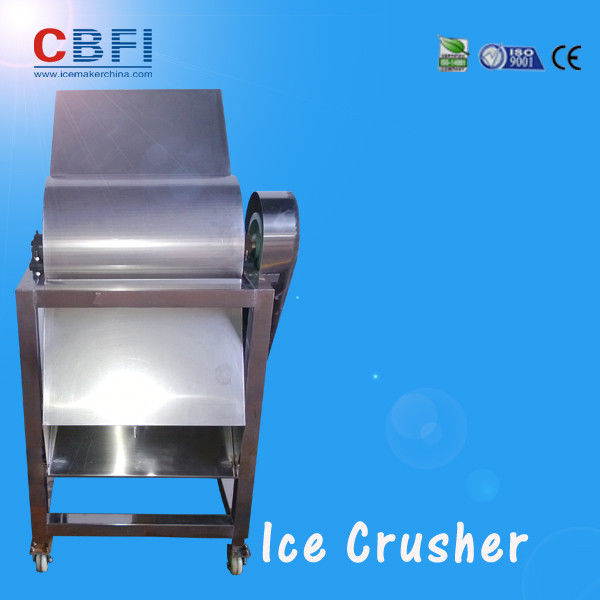 CBFI Stainless Steel 304 Ice Crusher Machine For Bars / Fast Food Shops Tedarikçi