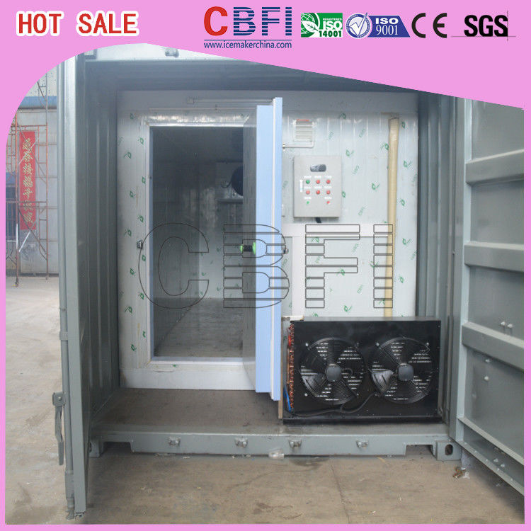 Stainless Steel Panels Container Cold Room American Copeland Scroll Compressor