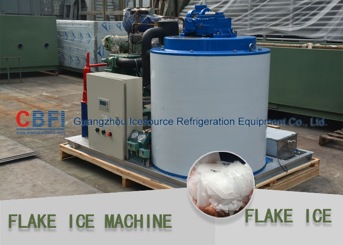 Large Daily Capacity Commercial Flake Ice Machine Fresh Water 10 Tons - 30 Tons Tedarikçi