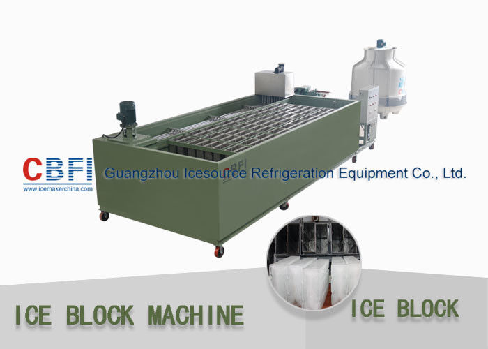 Transparent Ice Block Machine Block Ice Maker With Stainless Steel Ice Mold Tedarikçi