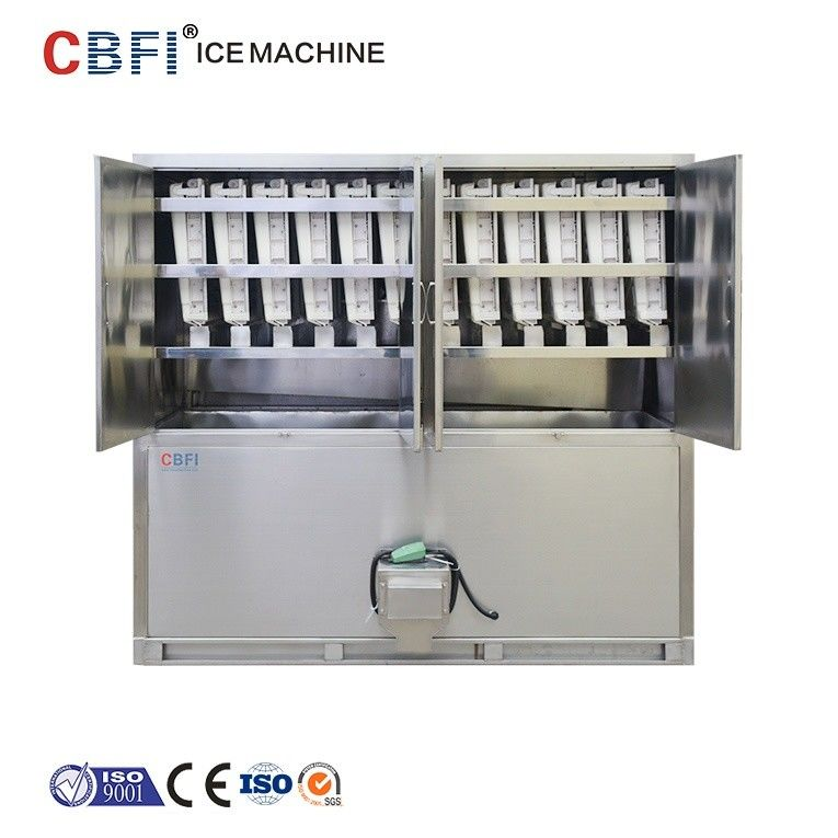 ETC 3 Tons Commercial Ice Cube Machine / Stand Alone Ice Maker