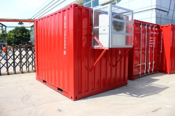 Refrigeration 20 Ft 40ft Container Cold Room / Freezer Shipping Containers For Fish Meat Storage