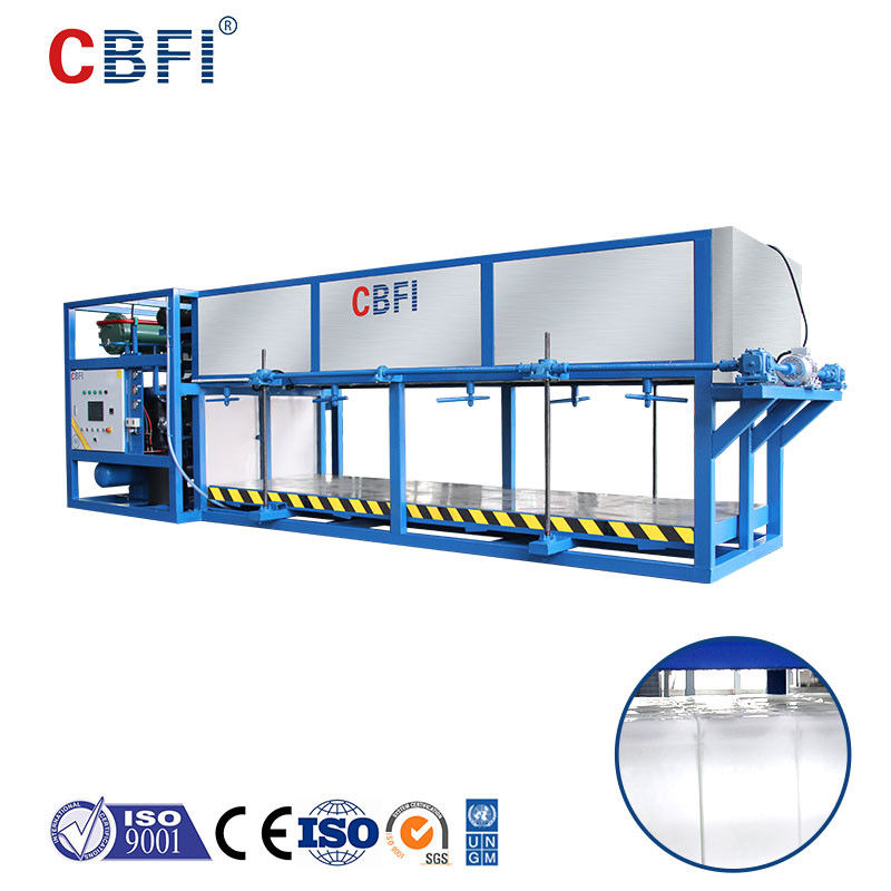 China CE Certified 5 Ton Automatic Ice Block Machine Direct Cooling
