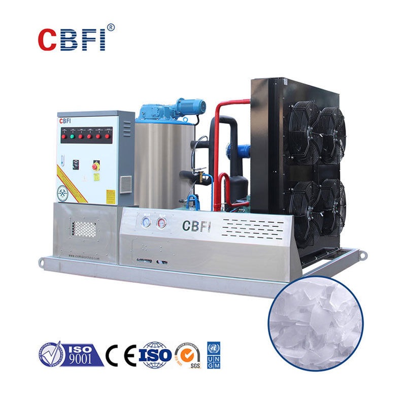 3 Tons Commercial Flake Ice Machine For Supermarket Food Preservation