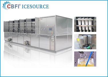CBFI 20 Tons Large Ice Cube Machine Commercial With Semi Automatic Packing System