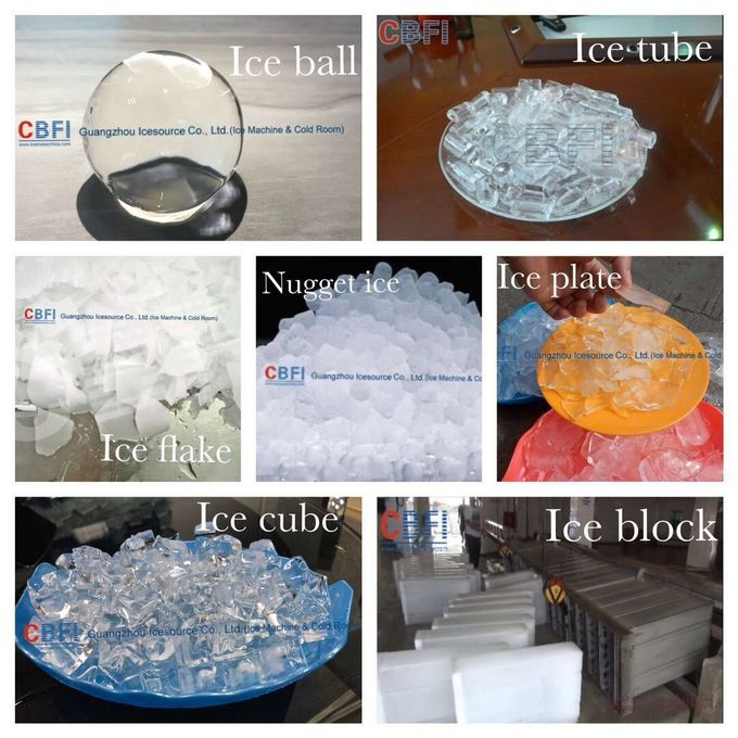 Edible Commercial Cube Ice Machine Ice Factory Used